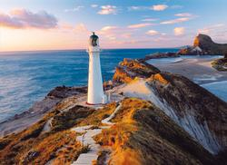 New Zealand Lighthouse Lighthouses Jigsaw Puzzle