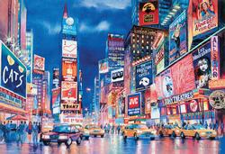 New York Lights Cities Jigsaw Puzzle
