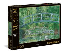The Water Lily Pond Bridges Jigsaw Puzzle