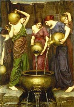 Danaides Pre-Raphaelite Art Jigsaw Puzzle