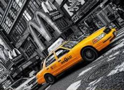 New York Taxi  Cities Jigsaw Puzzle