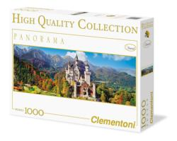 Neuschwanstein Germany Panoramic Puzzle