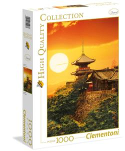 Kyoto, Japan Sunrise / Sunset Jigsaw Puzzle
