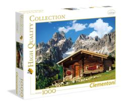 Austria the Mountain House Cottage/Cabin Jigsaw Puzzle