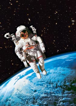 Astronaut Science Jigsaw Puzzle
