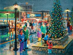 Holiday Lights Christmas Large Piece