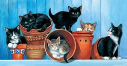 Potted Kittens Jigsaw Puzzle