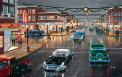 Main Street 'Tis the Season Christmas Jigsaw Puzzle