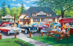 The Past Lane Nostalgic / Retro Jigsaw Puzzle