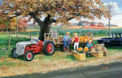 Harvest Time Farm Jigsaw Puzzle
