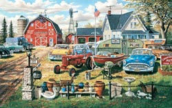A Bumper Crop Cars Jigsaw Puzzle