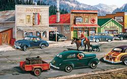 Along the Yukon Cars Jigsaw Puzzle