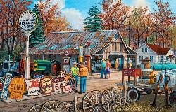 Signs of the Times Americana & Folk Art Jigsaw Puzzle