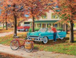 A Young Man's Dream Vehicles Jigsaw Puzzle