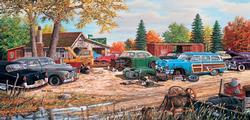 Junkyard Relics Nostalgic / Retro Jigsaw Puzzle