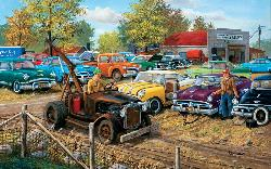 Sold As Is Vehicles Jigsaw Puzzle