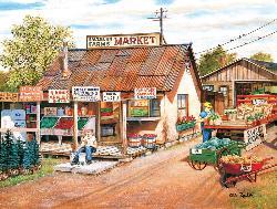Salzburn Market General Store Jigsaw Puzzle