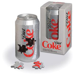 3D Diet Coke Can Coca Cola Jigsaw Puzzle
