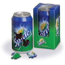 Sprite - 3D Can Coca Cola Children's Puzzles