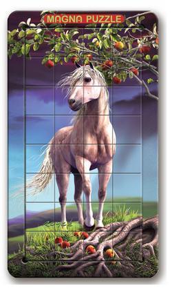 3D Lenticular - Horse Nature Lenticular