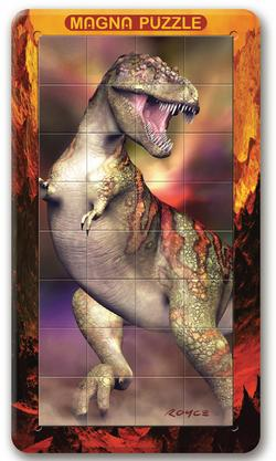 3D Lenticular - T-Rex Lenticular Puzzle