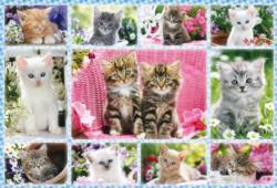 Kittens Collage Children's Puzzles