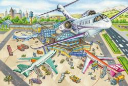 A day at the airport Planes Jigsaw Puzzle