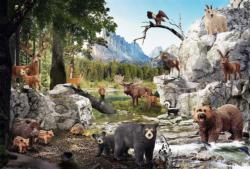 The Animals Of The Forest Animals Large Piece