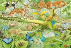 Animals In The Jungle Jungle Animals Children's Puzzles