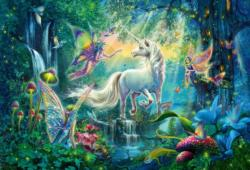 Mythical Kingdom Unicorns Large Piece