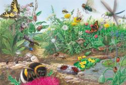 Discover The World Of Insects Butterflies and Insects Large Piece