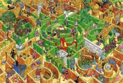 Labyrinth Dragons Children's Puzzles