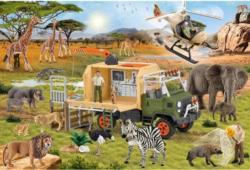 Animal Rescue Wildlife Children's Puzzles