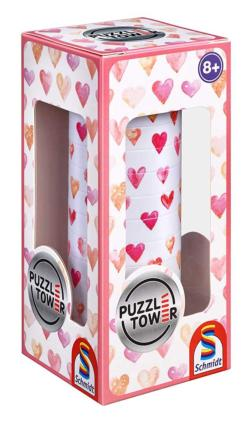 Puzzletower Hearts Brain Teaser