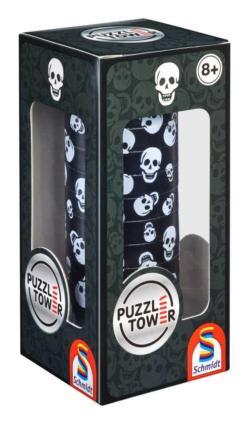 Puzzletower Skull Gothic Brain Teaser