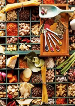 Kitchen Potpourri Collage Jigsaw Puzzle