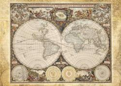 Historical World Map History Jigsaw Puzzle