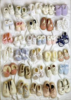 Baby Shoes Collage Jigsaw Puzzle