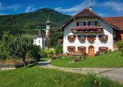 Holidays in Hoglworth Monastery, Upper Bavaria Cottage / Cabin Jigsaw Puzzle