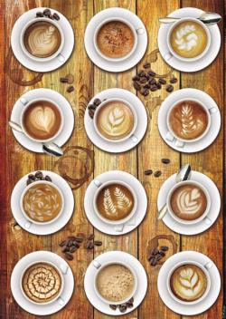 Works Of Coffee Art Food and Drink Jigsaw Puzzle