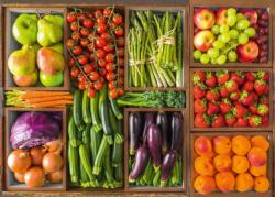 Fresh From The Market Food and Drink Jigsaw Puzzle