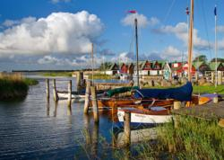 Ahrenshoop, Baltic Sea Boats Jigsaw Puzzle