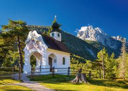 Bavarian Chapel Churches Jigsaw Puzzle