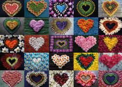 Hearts for Madalene Hearts Jigsaw Puzzle