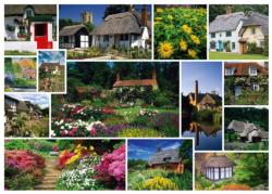 Take A Trip To England Collage Jigsaw Puzzle