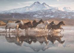 Horses In Cappadocia Horses Jigsaw Puzzle