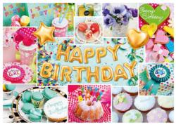 Happy Birthday Collage Jigsaw Puzzle