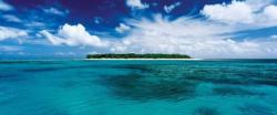 Lady Musgrave Island, Queensland, Australia Australia Panoramic Puzzle