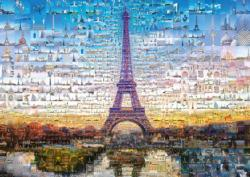Paris Collage Jigsaw Puzzle