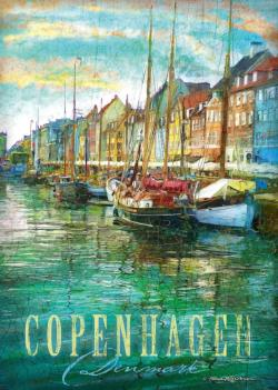 Copenhagen Lakes / Rivers / Streams Jigsaw Puzzle